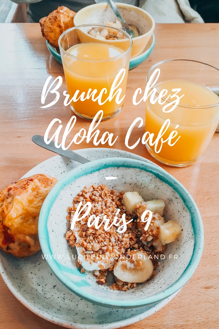 Brunch tropical chez Aloha Café - Lucile in Wonderland