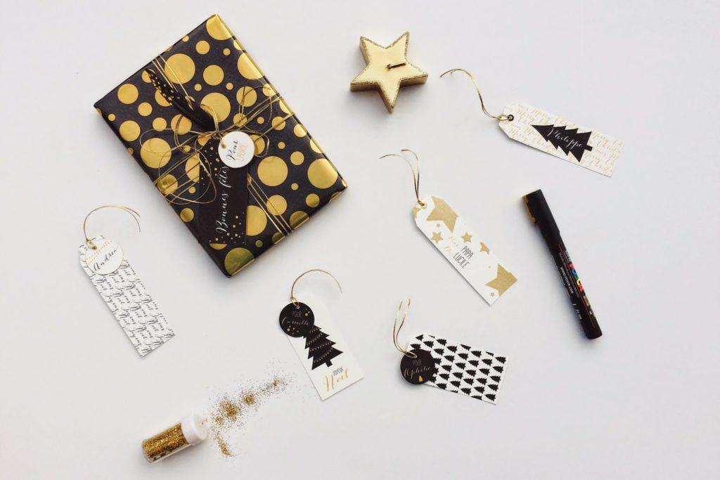 PRINTABLE : Les étiquettes de Noël