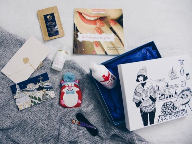 Mes petites box #3 : la box Que J'adore – Novembre / Décembre 2016