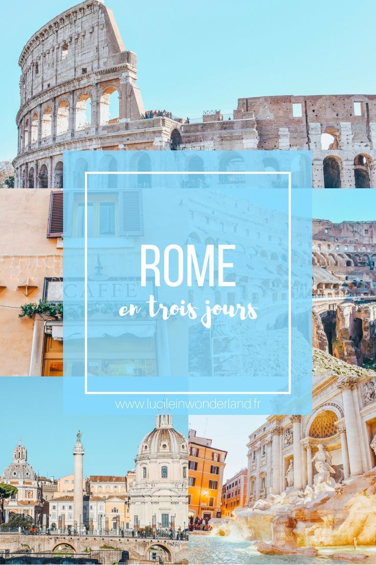 Rome en trois jours - Lucile in Wonderland