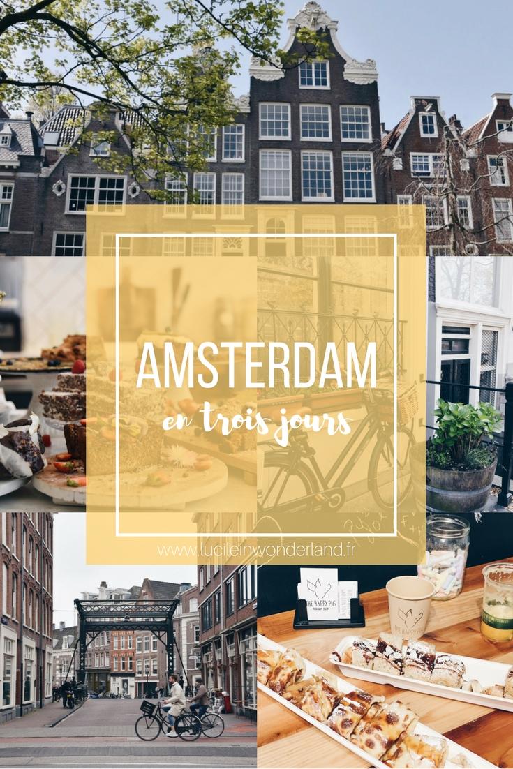 Amsterdam en trois jours - Lucile in Wonderland