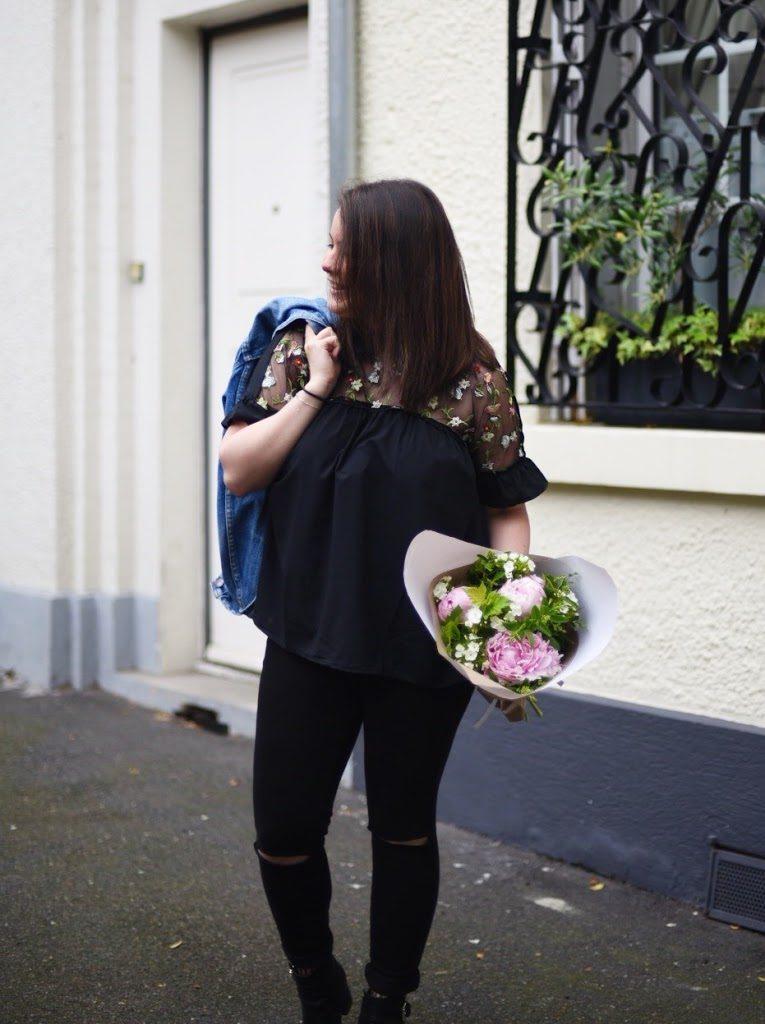 favoris du moment shein sheinside blouse fleurie blog lifestyle mode lucileinwonderland