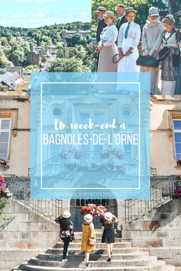Un week-end à Bagnoles-de-l'Orne - Lucile in Wonderland