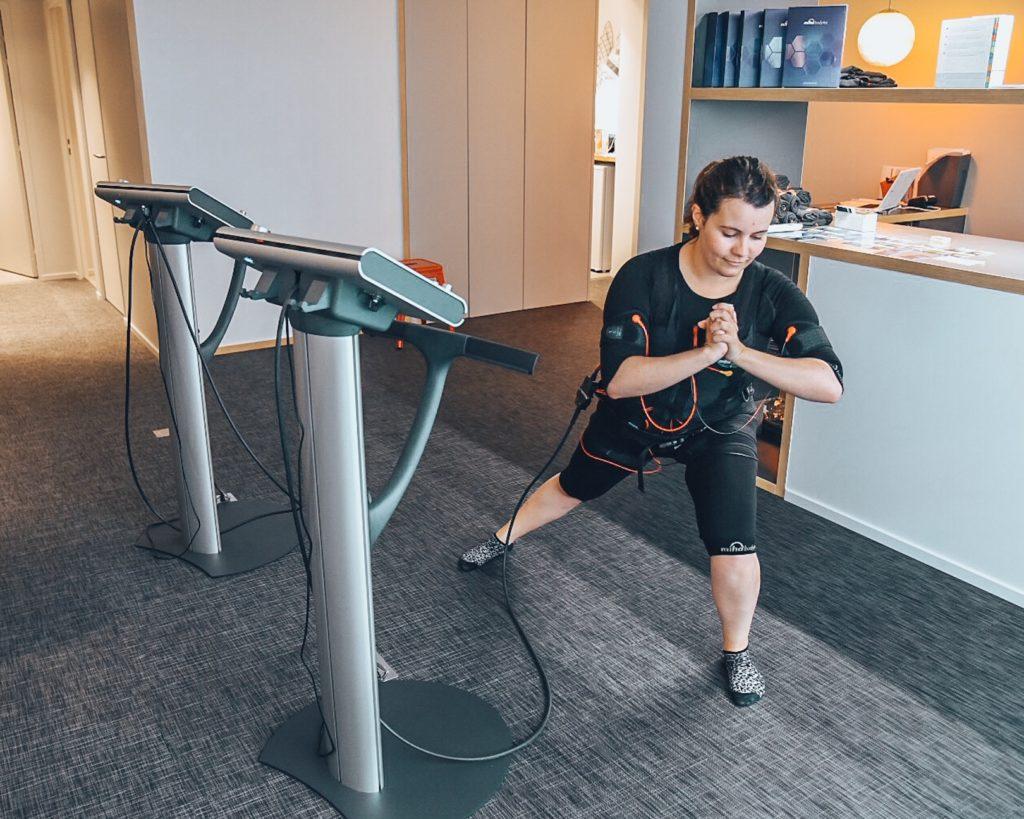 Mihabodytech EMS electrostimulation sport test blog lifestyle lucileinwonderland