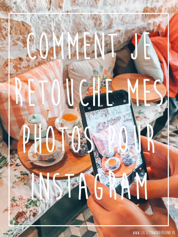 retouche photo lightroom mobile instagram lucileinwonderland