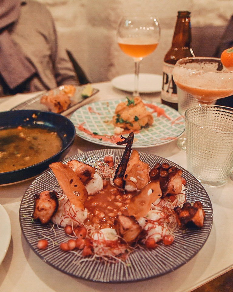 Cocktail et tapas chez Homies del Mar   Paris 4