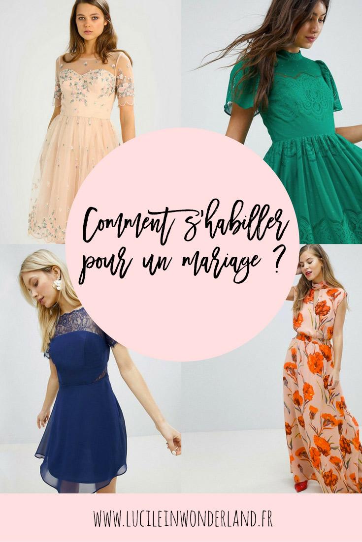 Comment s'habiller pour un mariage ? - Lucile in Wonderland