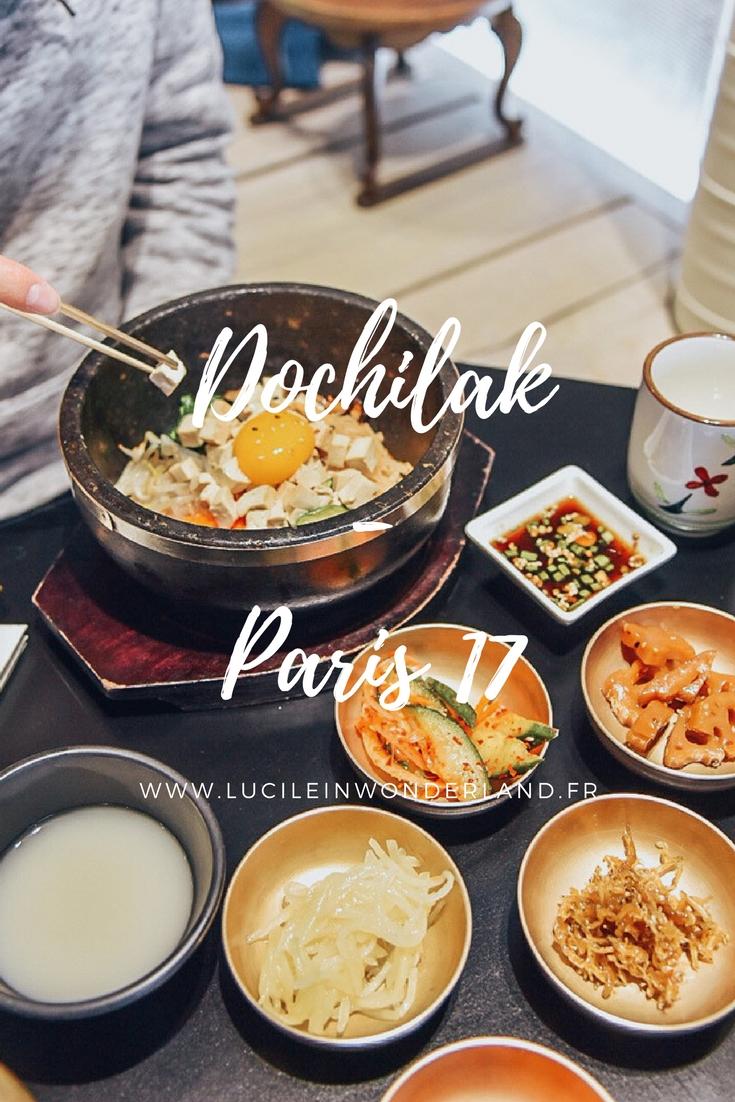 Cuisine coréenne chez Dochilak - Lucile in Wonderland