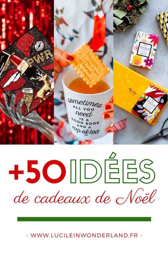 Plus de 50 idées de cadeaux de Noël pour 2019 - Lucile in Wonderland