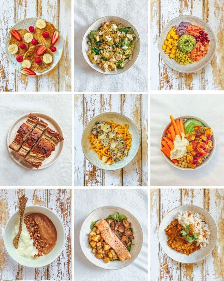 1 semaine dans mon assiette #3 : 7 jours de menus healthy